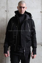 11byBBS Short Hooded Bomber