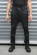 Boris Bidjan Saberi 'Bio-indumentary' Vinyl Coated Drop Crotch Trouser