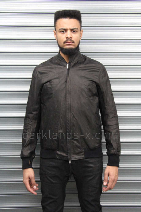 Boris Bidjan Saberi 'Bio-indumentary' Reversible Seam Taped And Oil Washed Leather Jacket