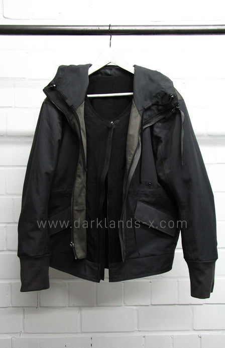 Blackmerle Reversible Hooded Jacket