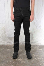 11byBBS Slim Fit Trousers, Black