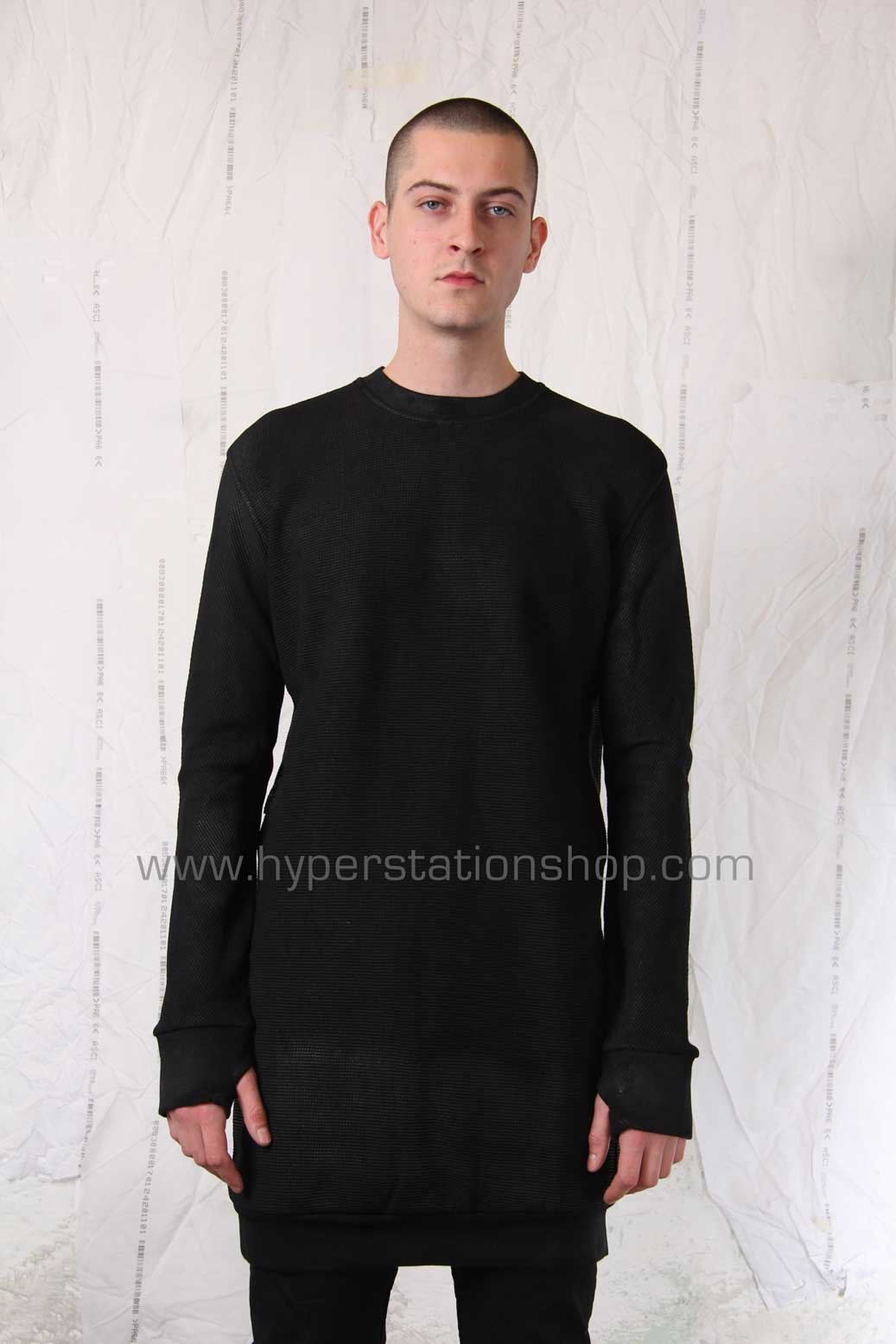11byBBS Long Pullover, Black
