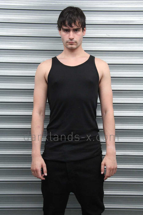 Boris Bidjan Saberi 'Techno Punk' Mini Rib Tank Top