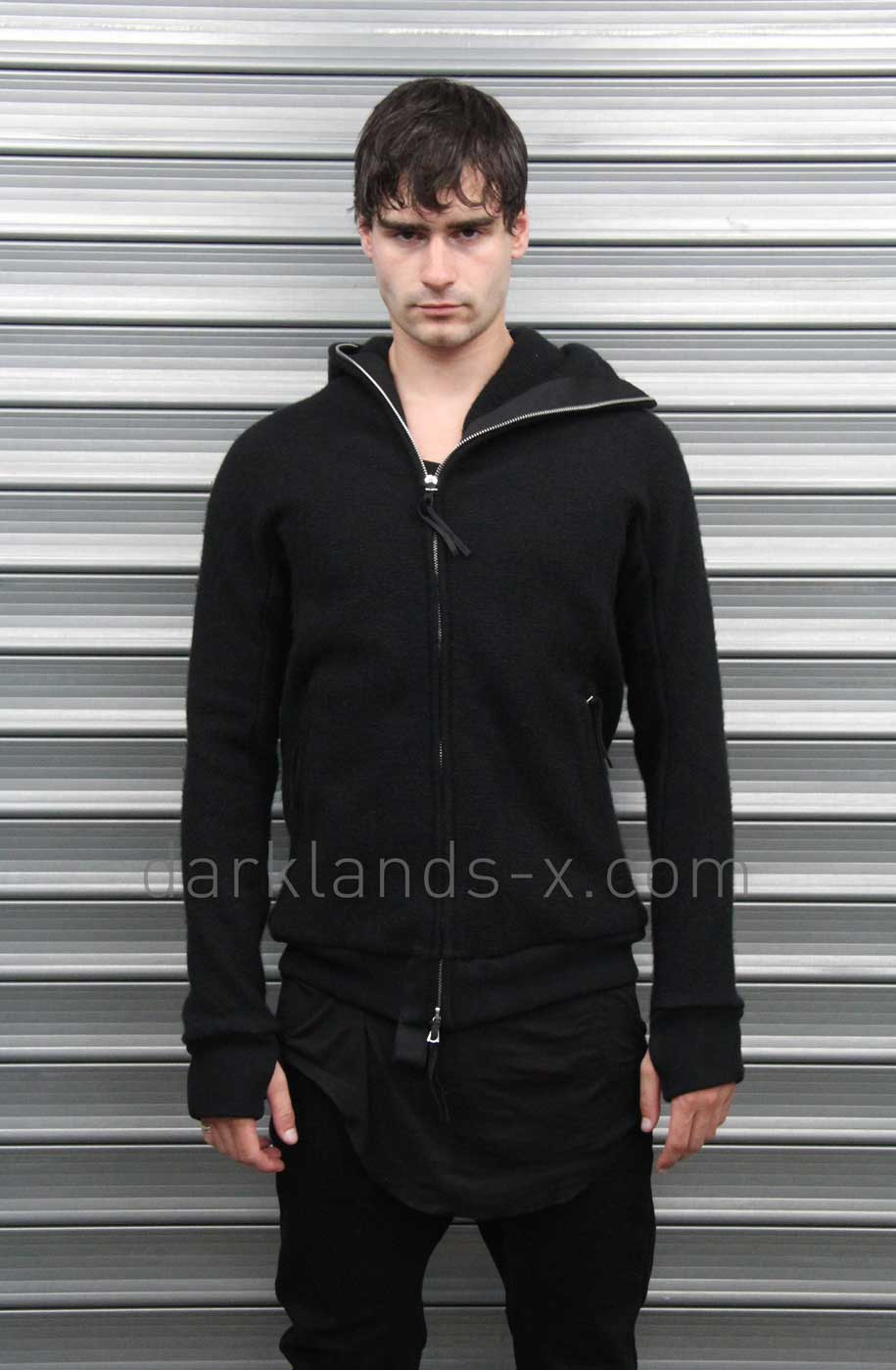Boris Bidjan Saberi 'Techno Punk' Thick Object Dyed Ninja Zipper