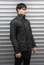 Boris Bidjan Saberi 'Techno Punk' Double Zipper Leather Jacket