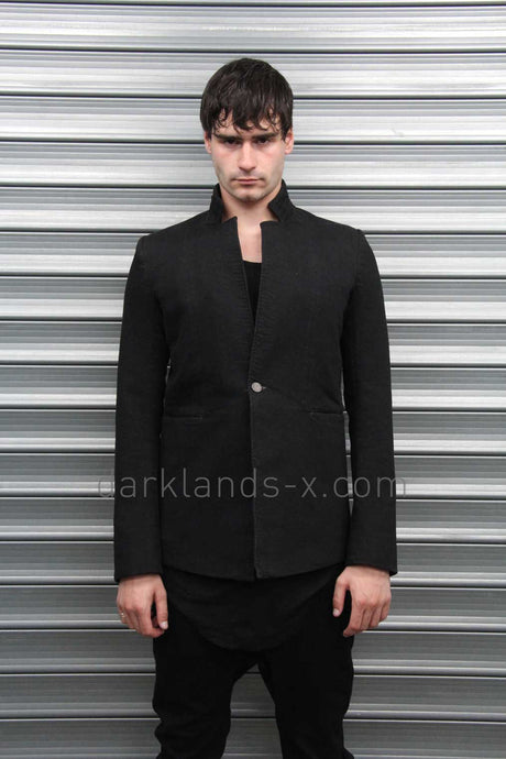 Boris Bidjan Saberi 'Techno Punk' Resin Dyed Hunters Jacket