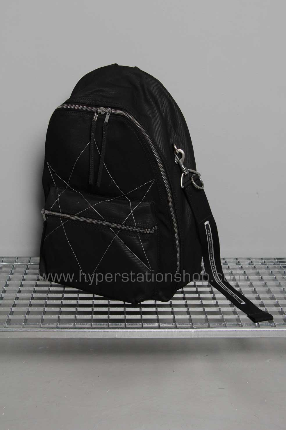 DRKSHDW Hexagram Backpack, Black