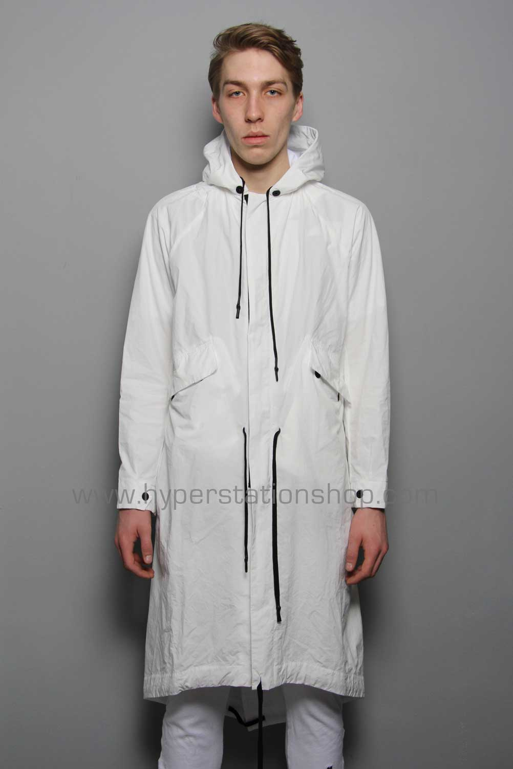 11byBBS 'Keep The Fight' Coat, White