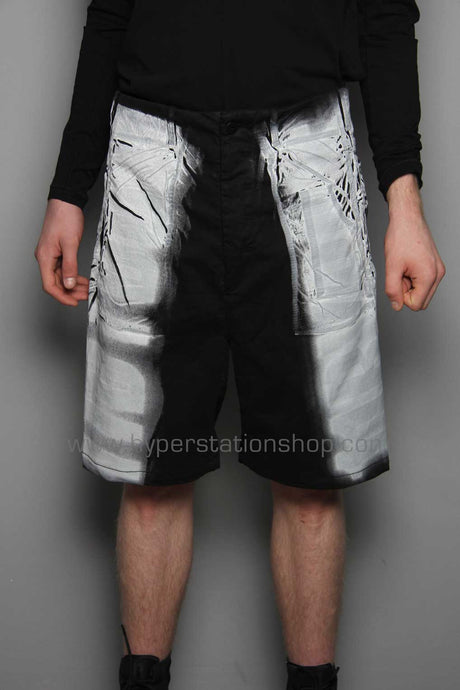 11byBBS Blurry Shorts, Black