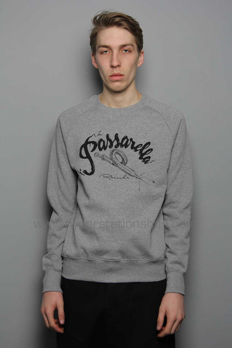 Passarella Death Squad Record Sweater, Grey