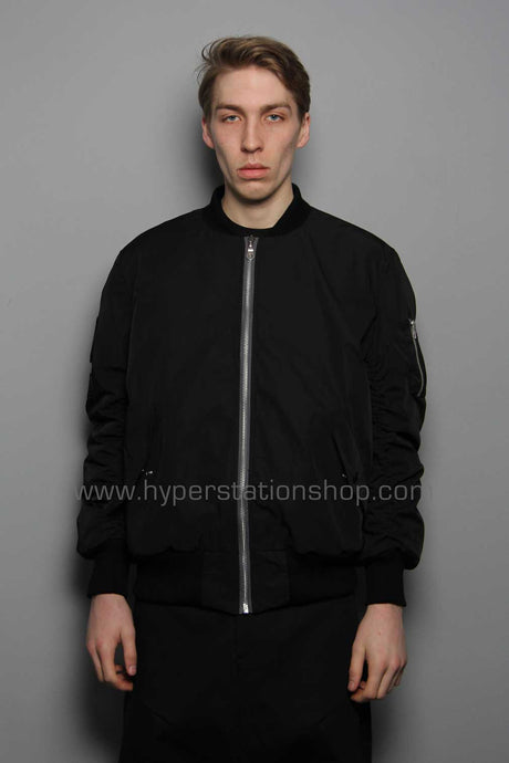 Passarella Death Squad Patched Bomber, Black