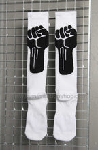 11byBBS Keep The Fight Socks, White