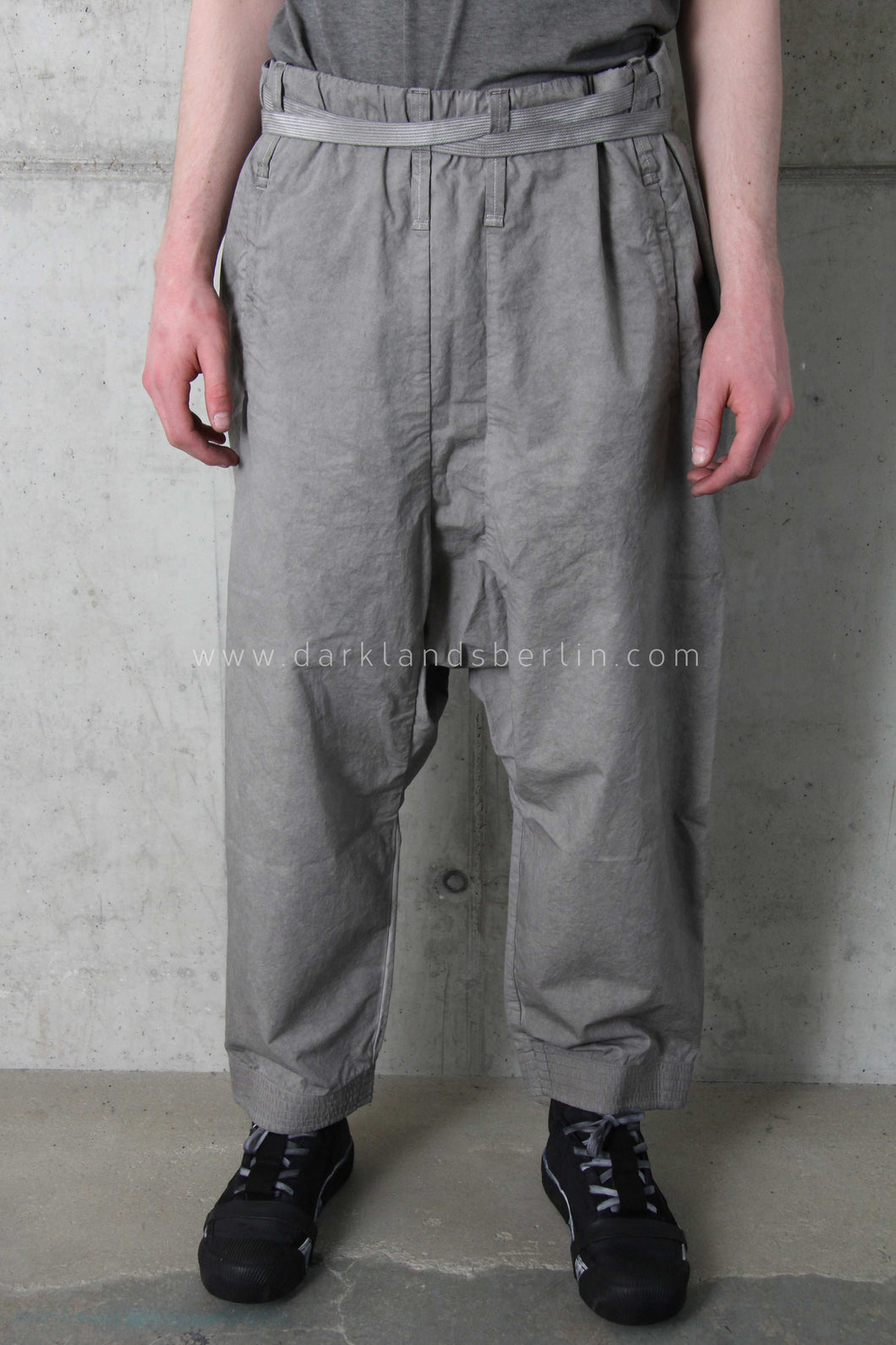 Boris Bidjan Saberi 'Brutalism' Light grey Karate trouser