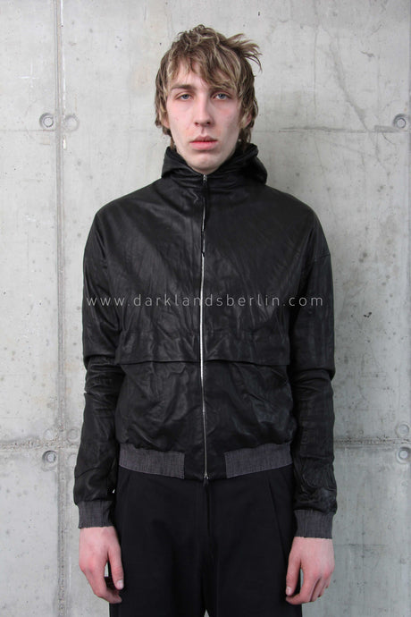 m.a+ Deep Pocket Hooded Bomber Jacket