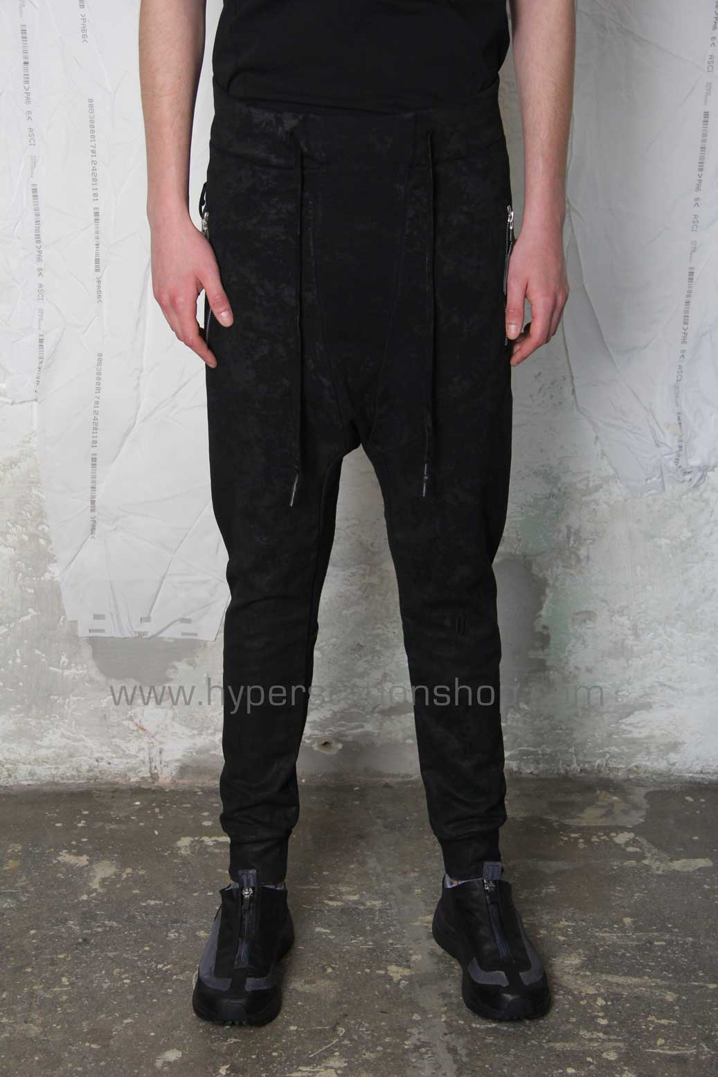 11byBBS Coated Jogger, Black