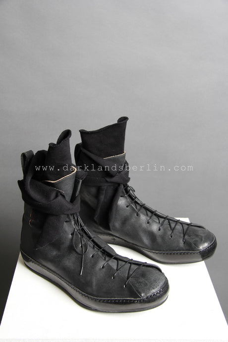 m.a+ Double Fold High-Top Sneaker With Cut Cross