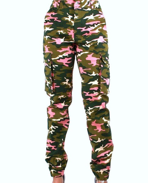 Green Ivy Army Cargo Pants