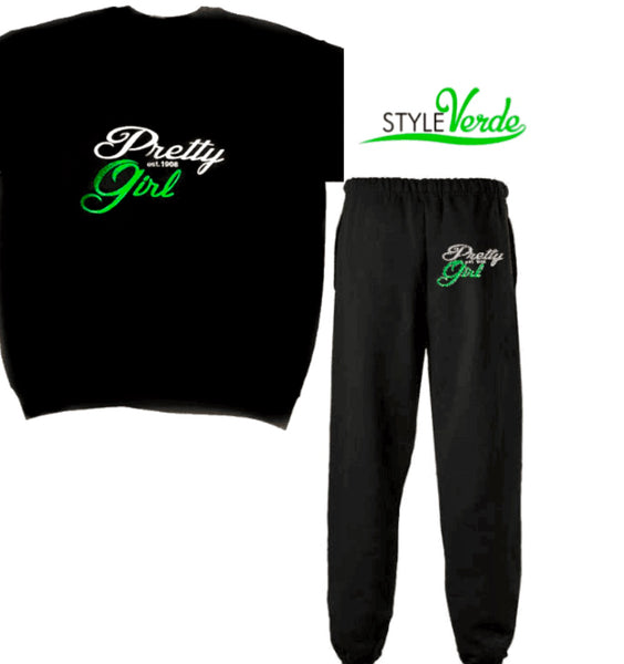Pretty Girl Sweatsuit Set