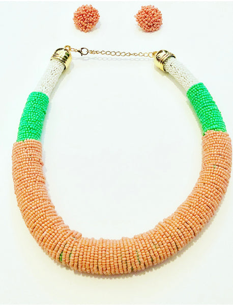 Lucy Beaded Necklace