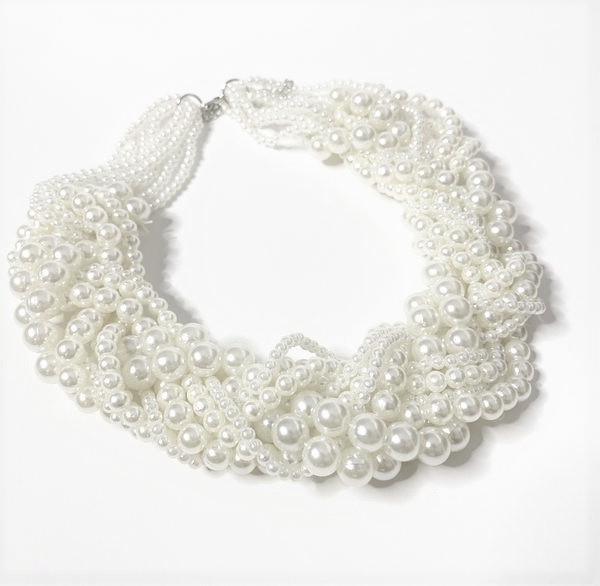 Harriet Pearl Necklace