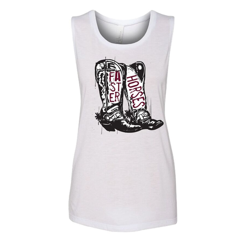 Ladies Boot Tank
