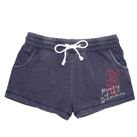 Ladies Shorts - Navy
