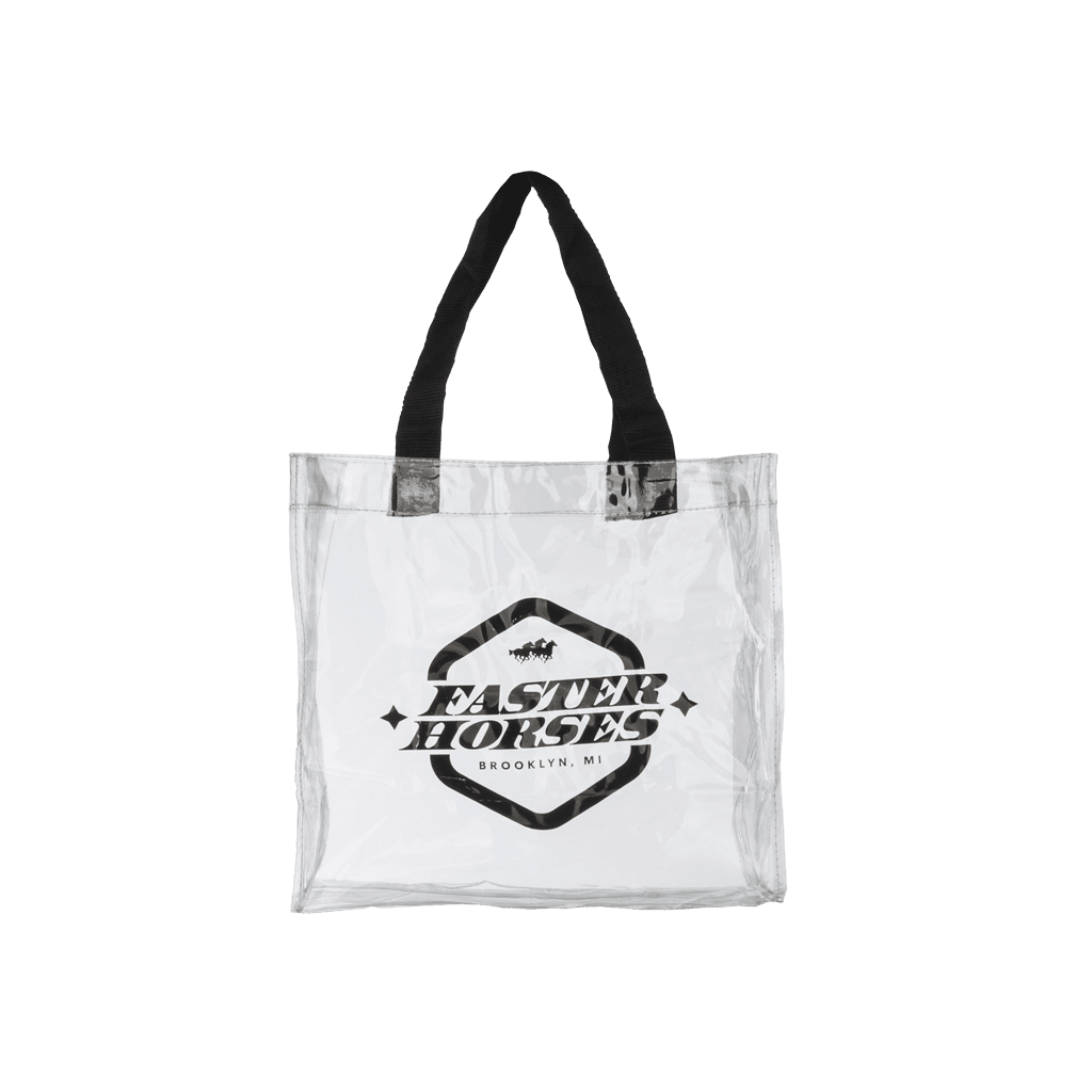 Faster Horses Clear Tote