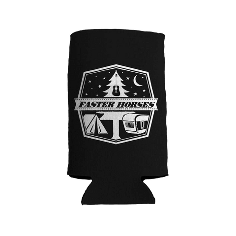 Camping Tall Boy Koozie