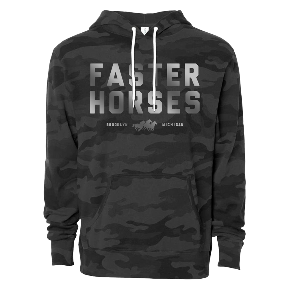 Faster Horses Reflective Hoodie
