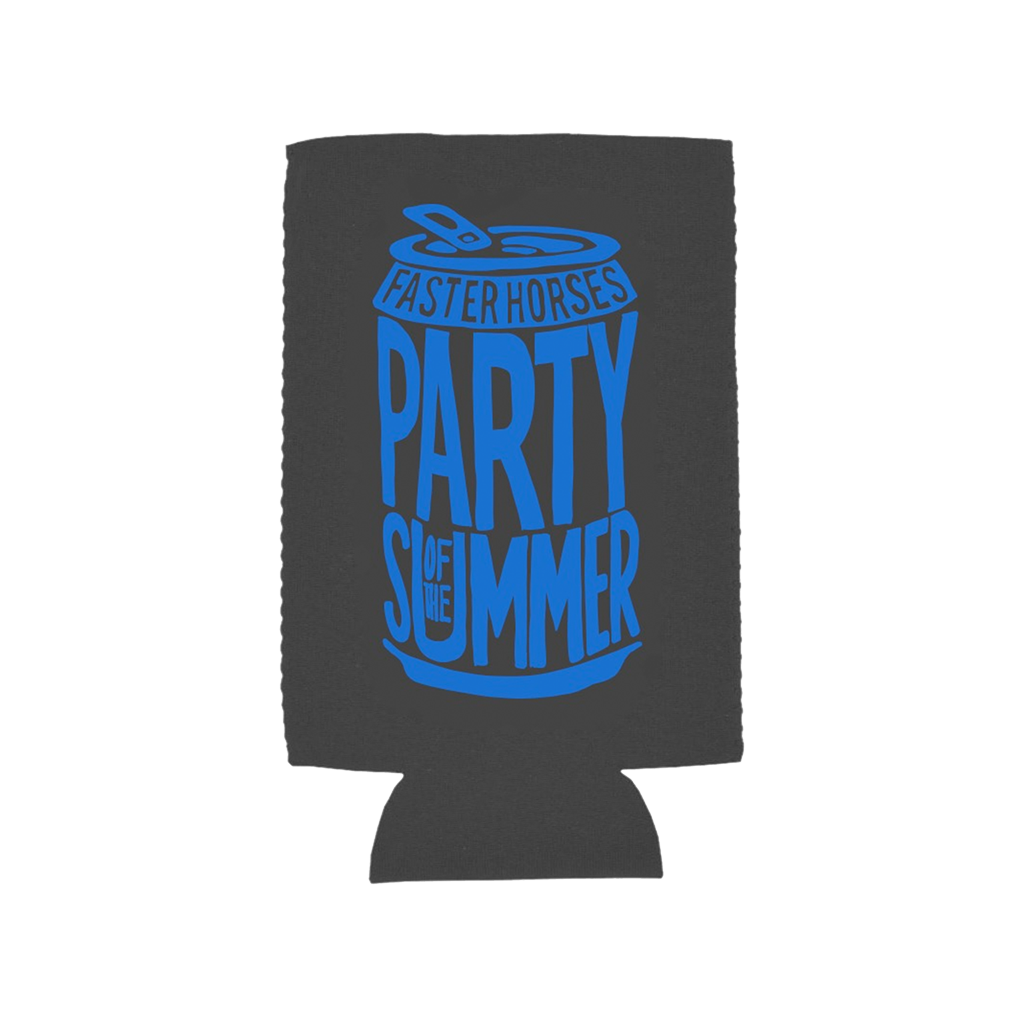 Party of the Summer Beer Can Tall Boy Koozie
