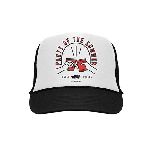 Black/White Party of the Summer Trucker Hat