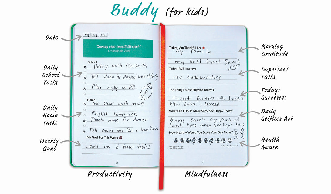 Best Me Buddy Journal For Children
