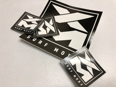 XM | SURF MORE STICKER PACK