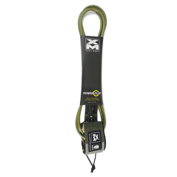 XM x CHRISTENSON SURFBOARD LEASH / POWER CLIP / BIG WAVE (.313in)