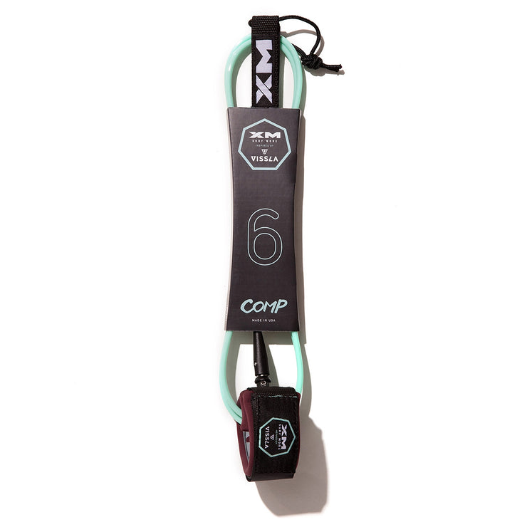 XM x VISSLA SURFBOARD LEASH / COMP (.220in)