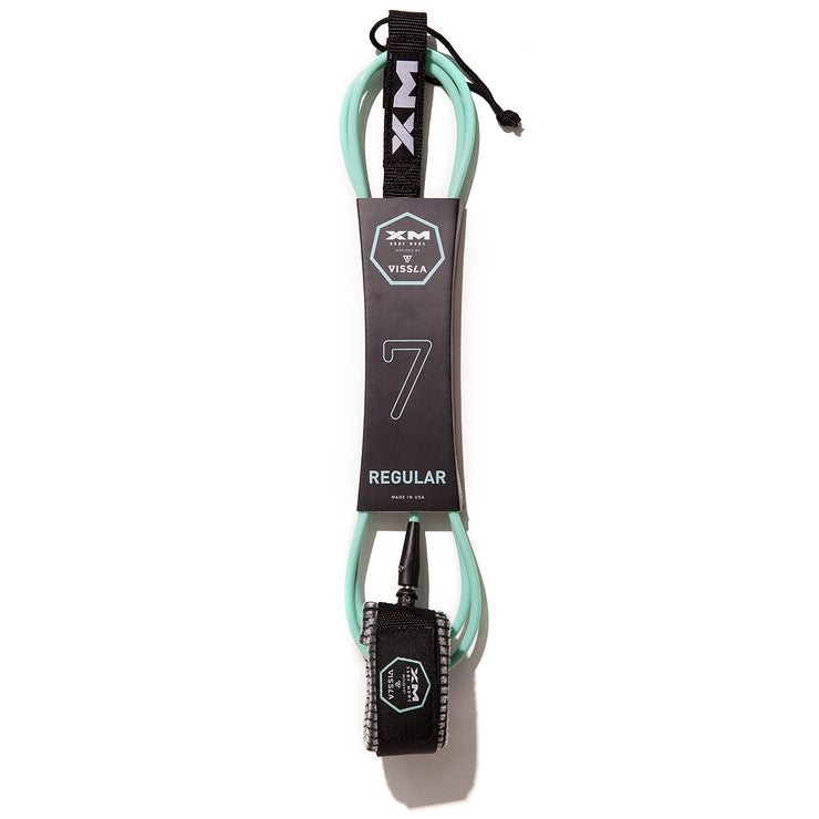 XM x VISSLA SURFBOARD LEASH / REGULAR (.270in)