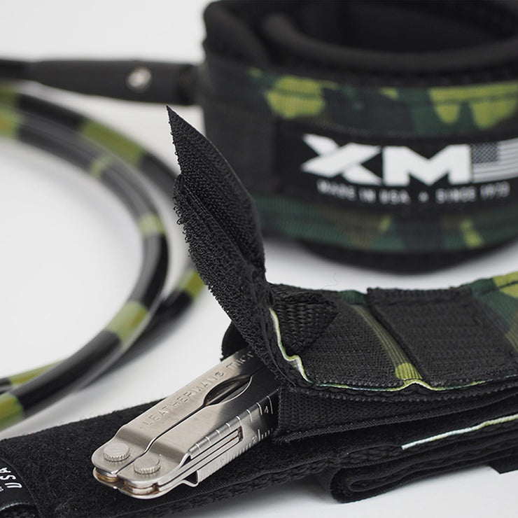 XM SURFBOARD LEASH / SPECIAL OPS / BIG WAVE (.313in)