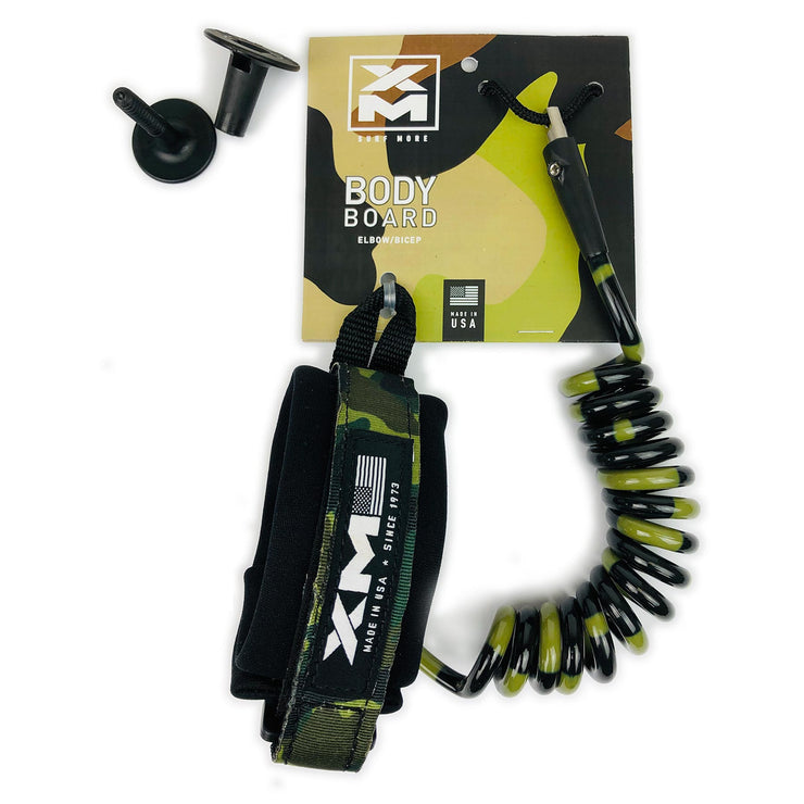 XM BODYBOARD LEASH / SPECIAL OPS / ELBOW-BICEP / COIL