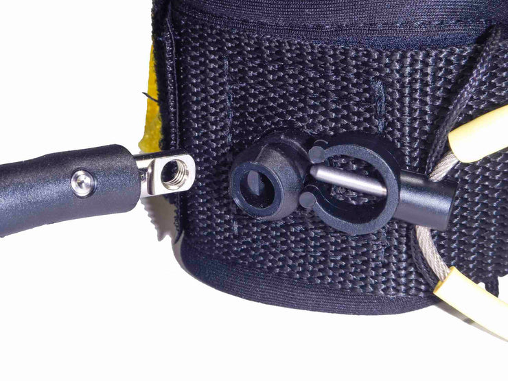 XM SURFBOARD LEASH / POWER-CLIP / KNEE/CALF / REGULAR (.270in)