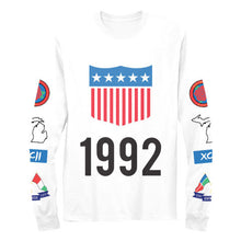 1992 Vintage Polo Inspired Long Sleeve