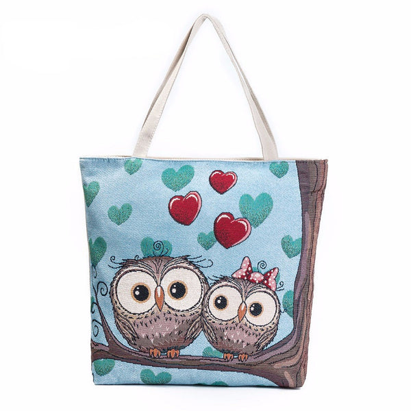 Love Owl Tote Bag