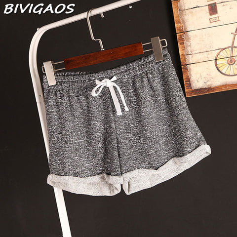 Casual drawstring Terry  Comfy Shorts