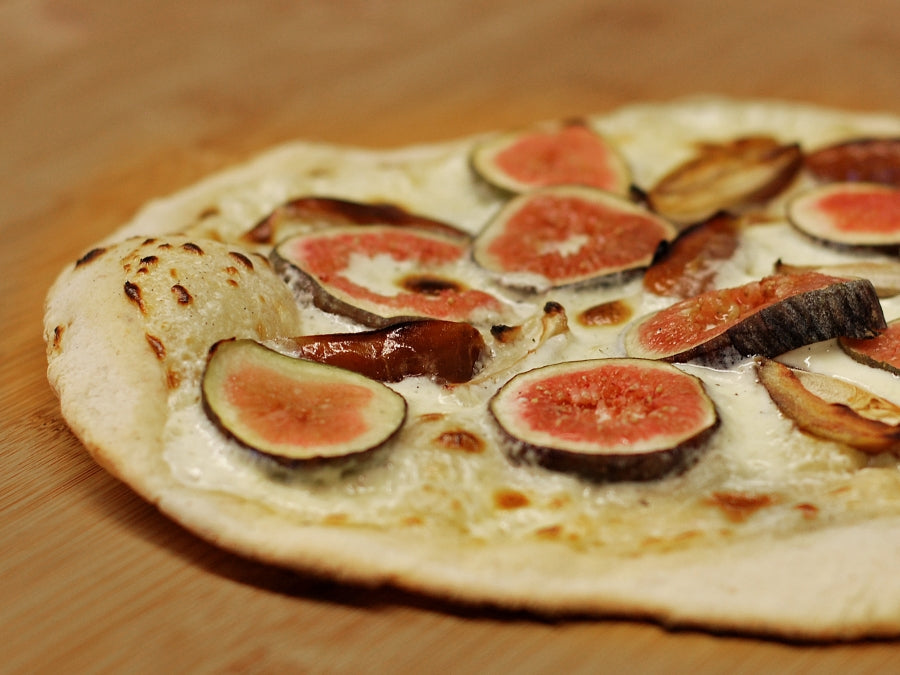 Pizza vom Pelletgrill