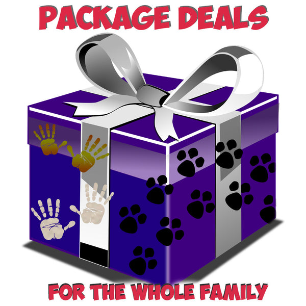! GREAT Package Deals to surprise PETS, FRIENDS and FAMILY !
