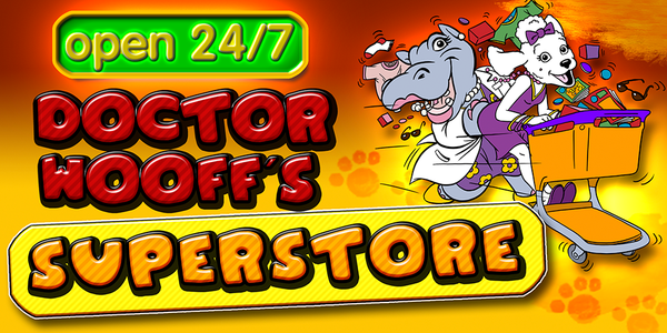 Wooff's Superstore with over 2000 items