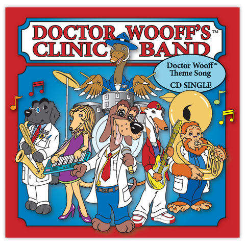Doctor Wooff's™  Autographed Sing-a-Long Theme Song CD
