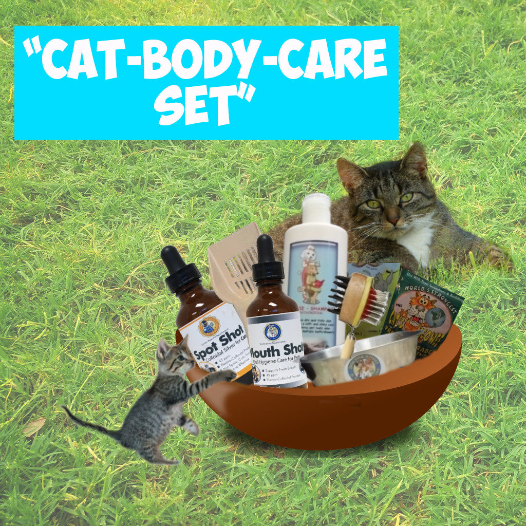CAT BODY-CARE SET