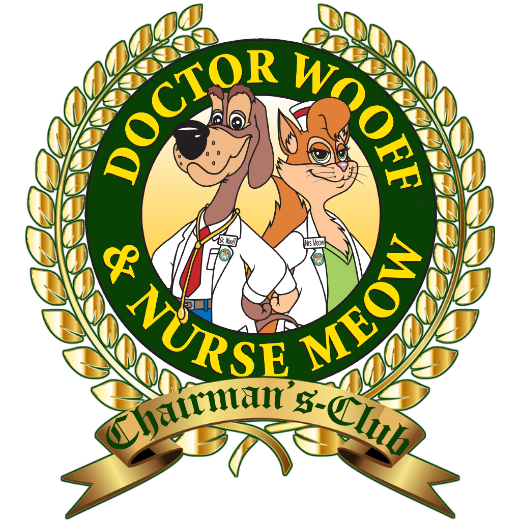 Doctor Wooff & Nurse Meow™ CHAIRMAN'S-CLUB