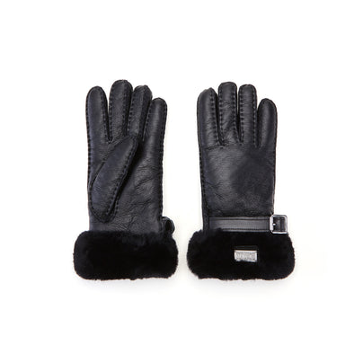 CUFF GLOVES BLACK NAPPA