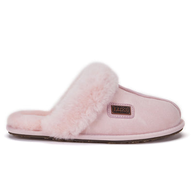 CLOSED MULE SLIPPERS DUSKY PINK